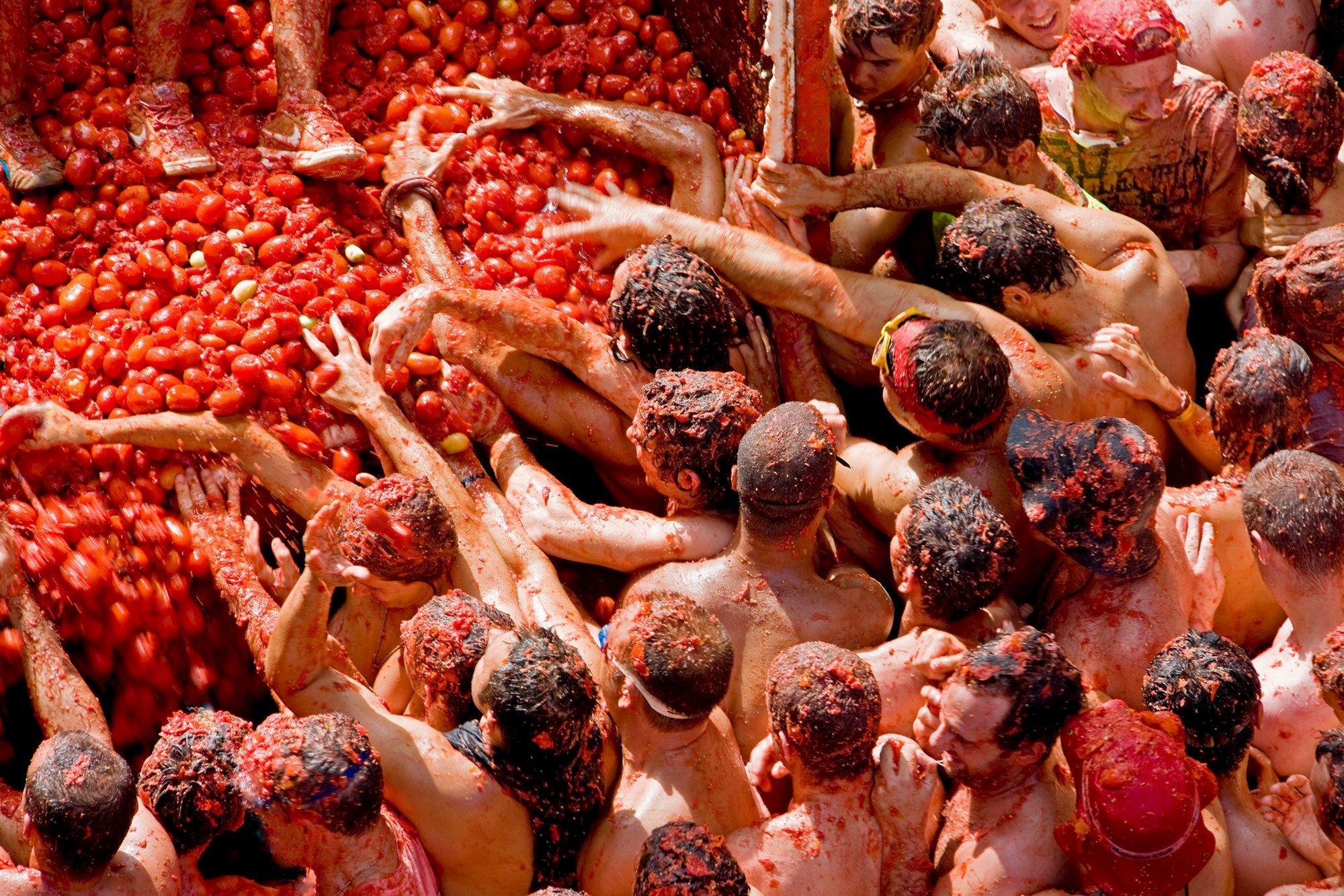 A24-756016. La tomatina de Buñol (Valencia)