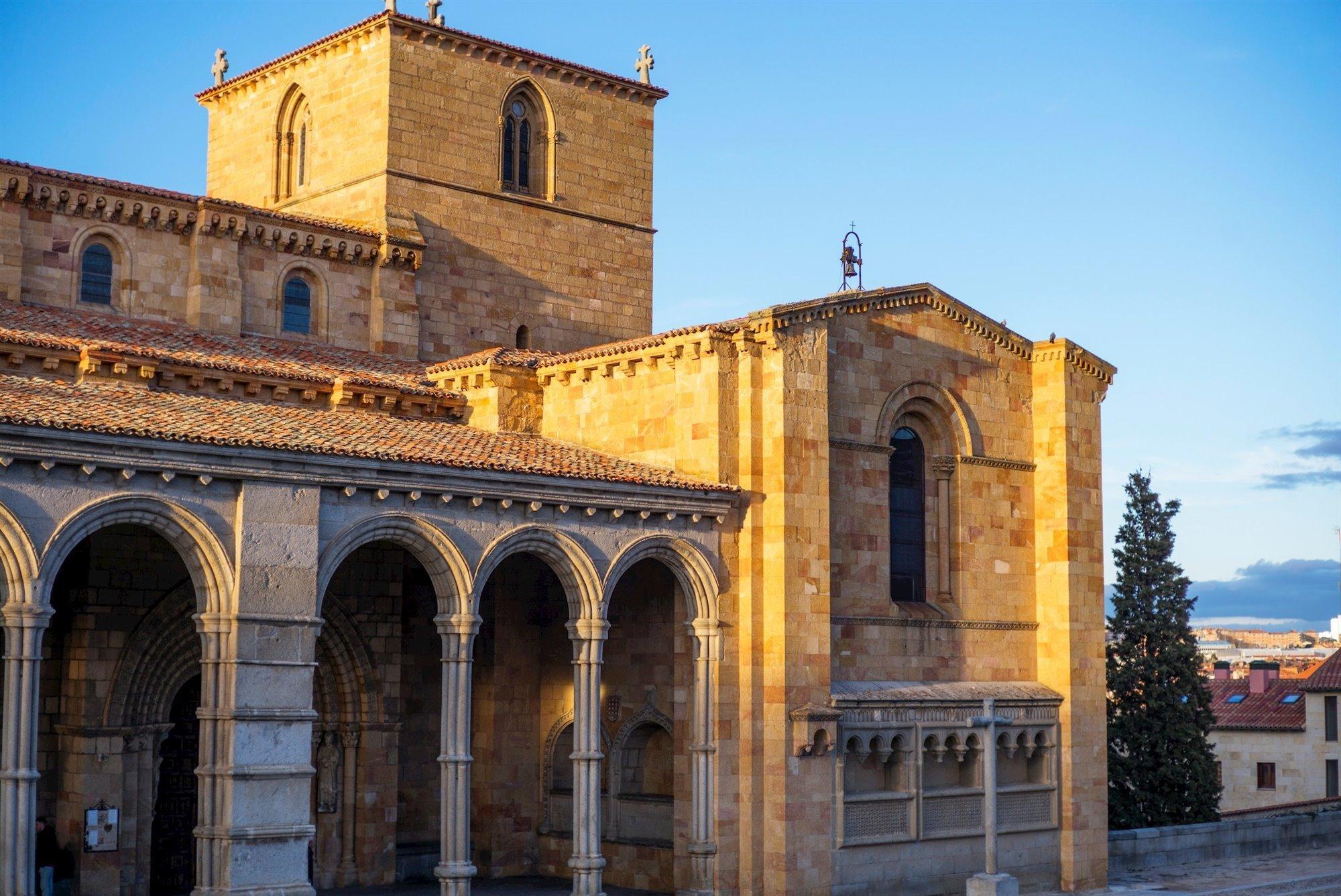 juderia avila. Iglesia de San Vicente, Ávila