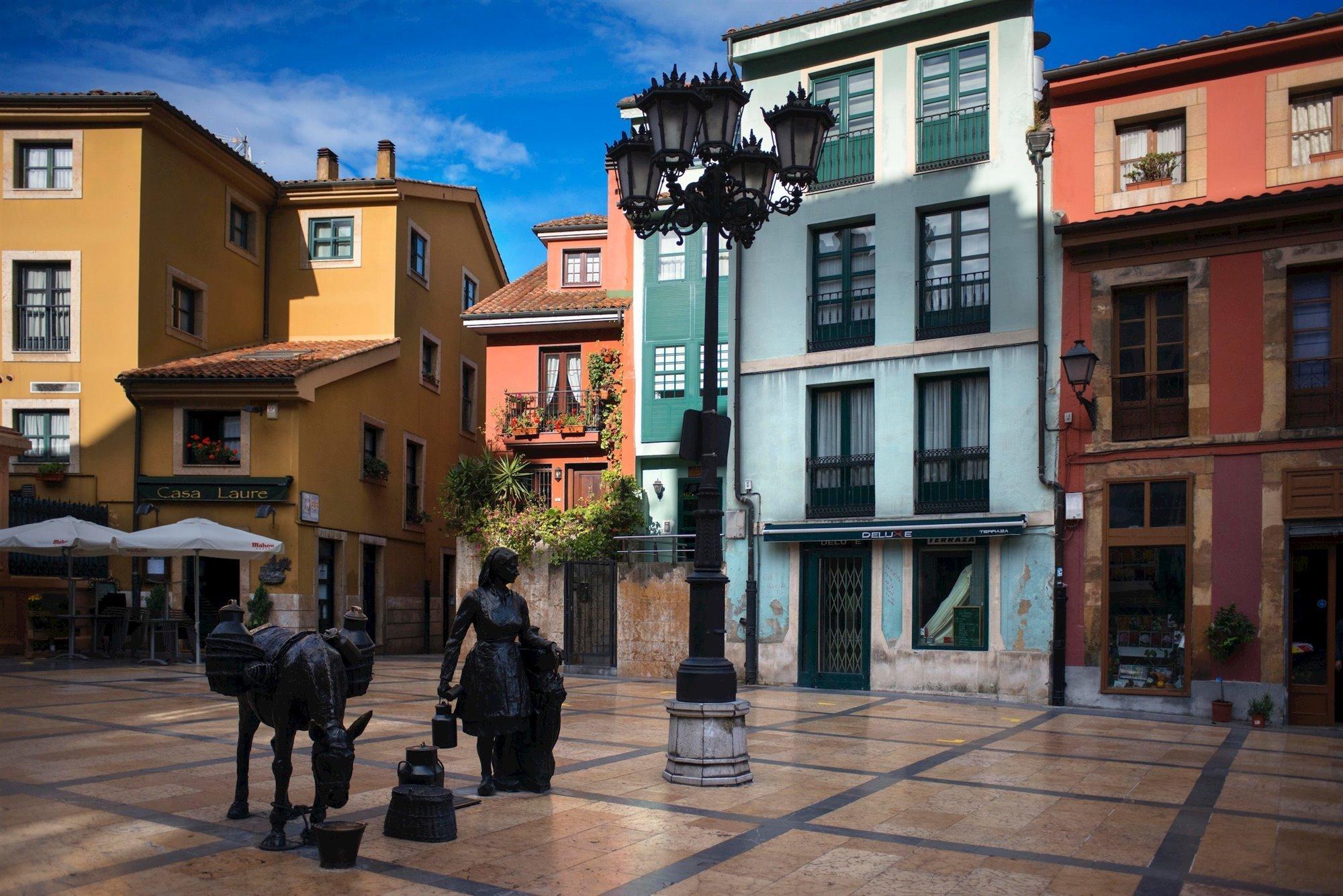 juderia oviedo. Plaza Trascorrales, Oviedo