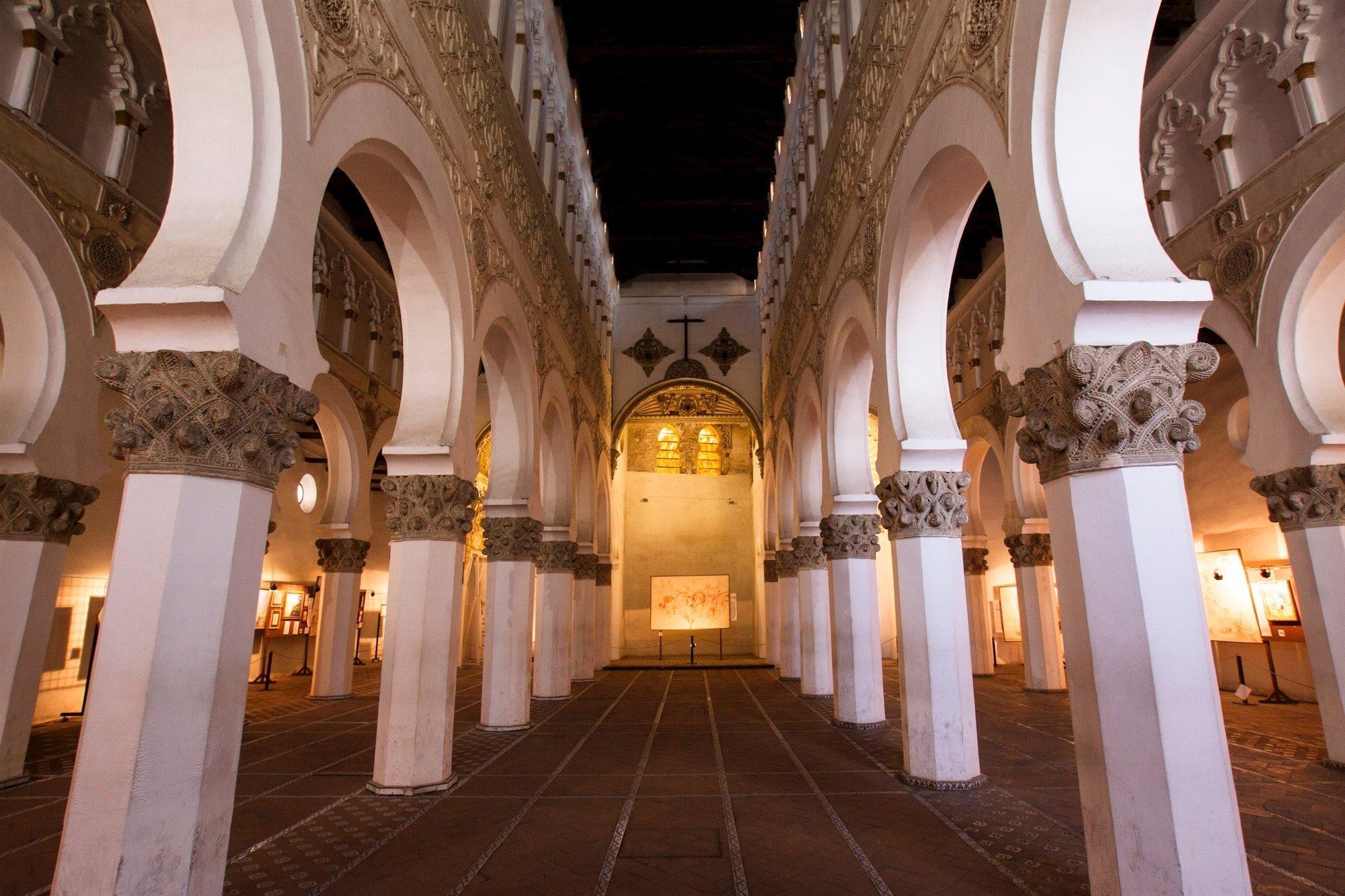 juderia toledo. Sinagoga de Santa Maria la Blanca, Toledo