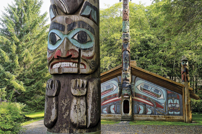 Casa Totem - Alaska. Casa Totem