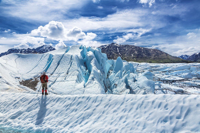 Glaciar Matanuska - Alaska. Glaciar Matanuska