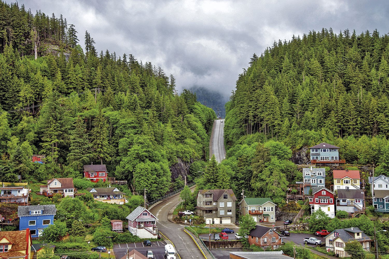 Ketchikan - Alaska. Ketchikan