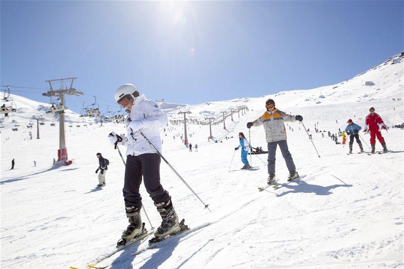 Estación de esquí de SN
