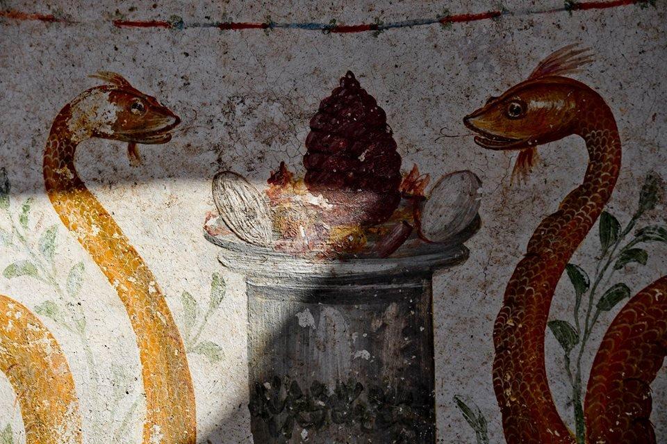 pompeya2. Serpientes de lengua bífida