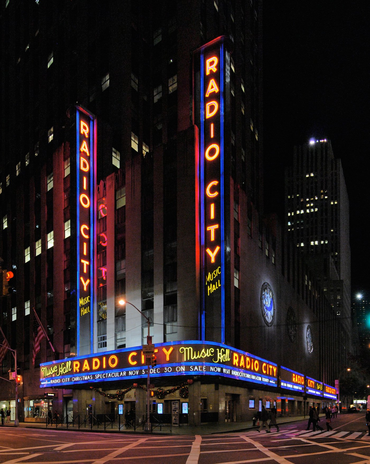 1Radio City Music Hall Panorama. Radio City Music Hall