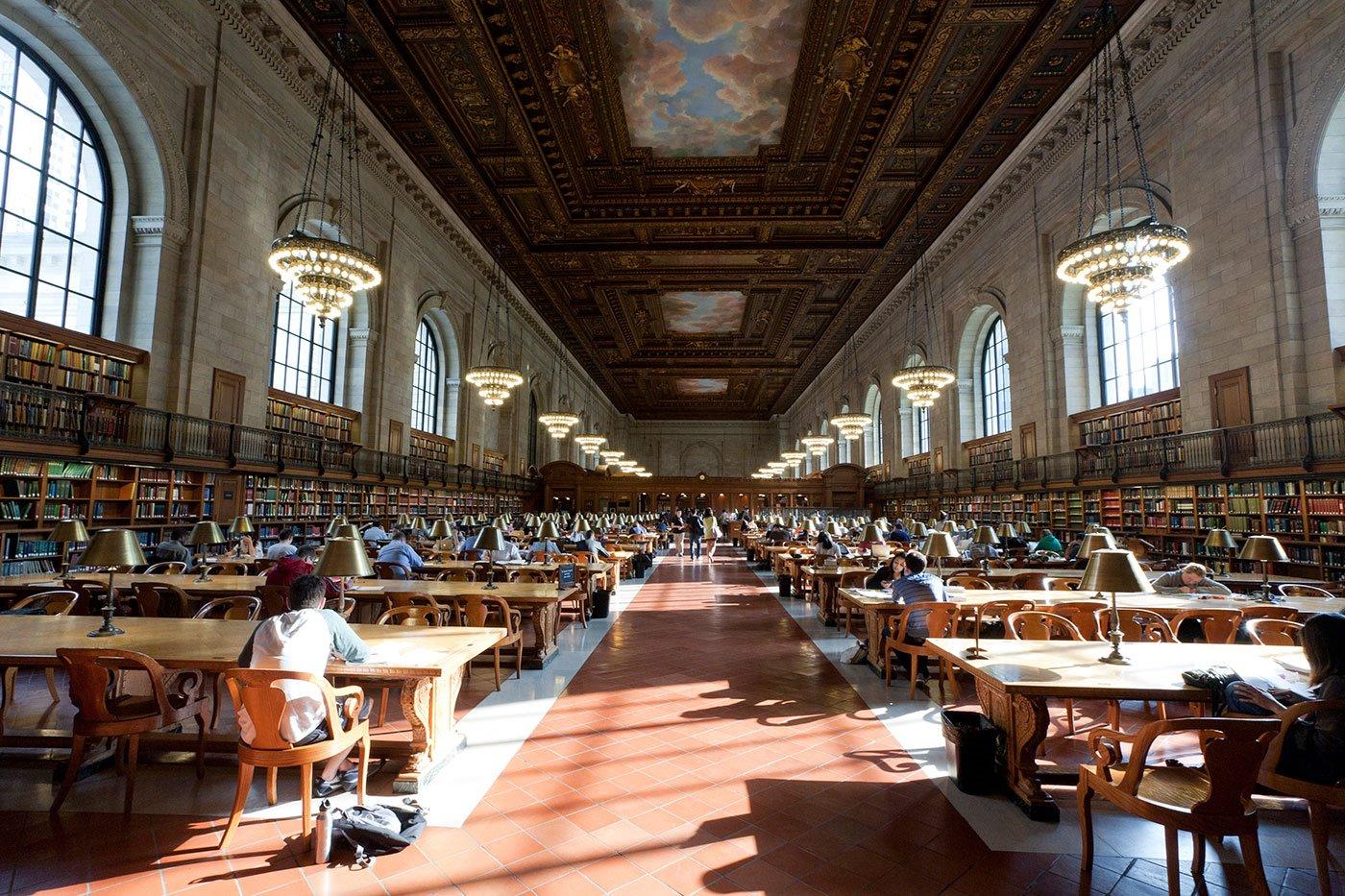 2NewYorkPublicLibrary WillSteacy 46-2. Biblioteca Pública de Nueva York