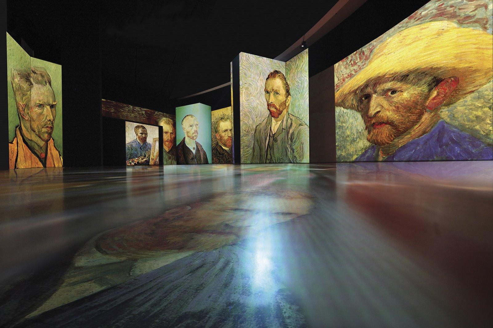 Autorretratos de Van Gogh