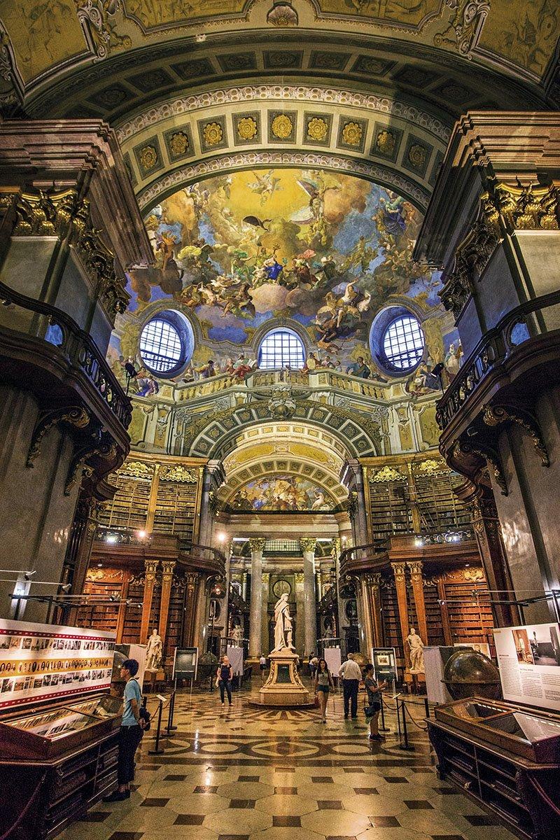 Biblioteca Nacional - Viena. Biblioteca Nacional