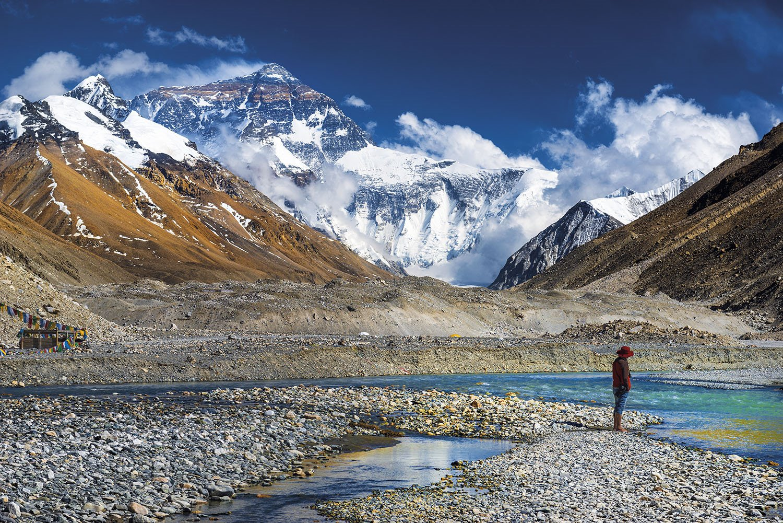 Campo base Everest. La cara norte del Everest
