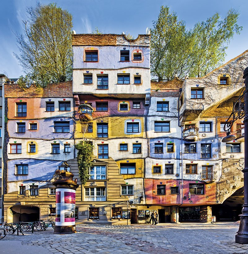 Casa Hundertwasser - Viena