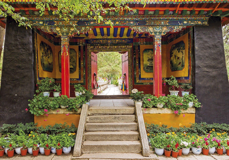 Jardines Norbulingka - Tibet. Jardines Norbulingka