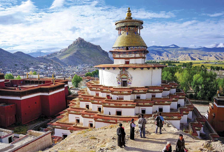 Kumbum de Gyantse - Tibet. El Kumbum de Gyantse