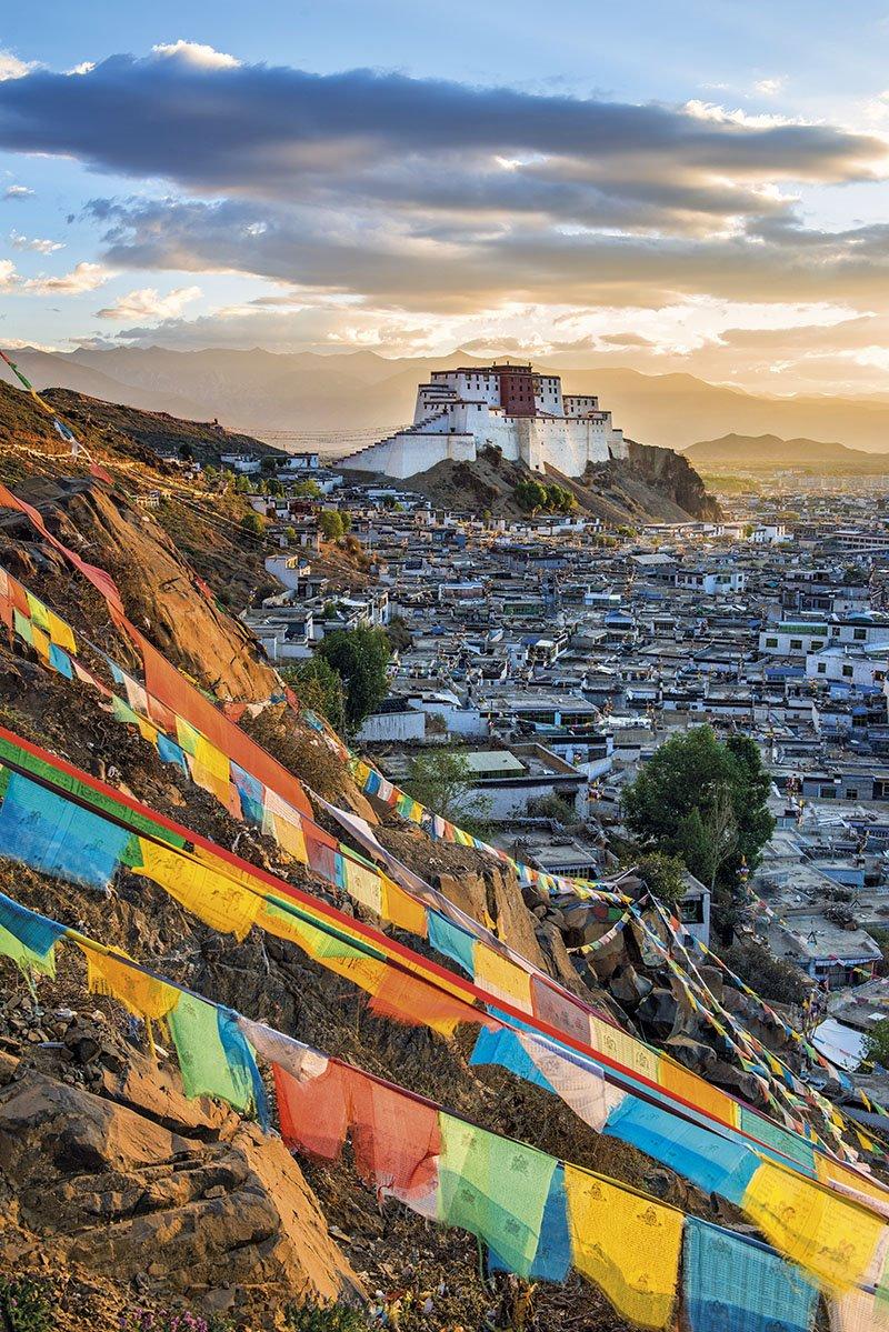 Monasterio Shigatse en Tibet. Monasterio Shigatse