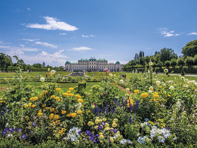 Palacio Belvedere - Viena. Palacio Belvedere
