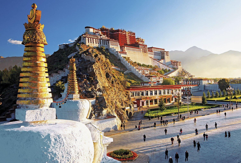 Palacio Potala - Tibet. Palacio del Potala