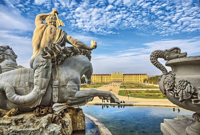 Palacio Schonbrunn - Viena. Palacio Schonbrunn