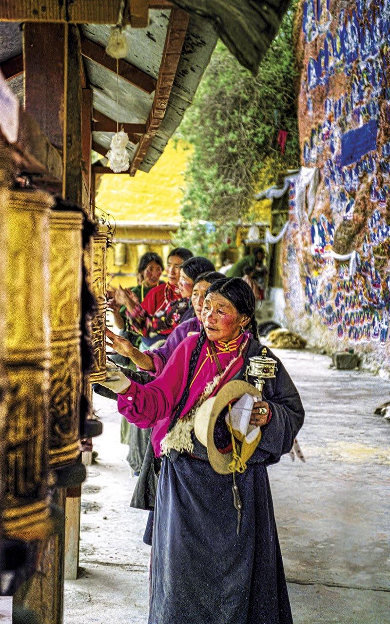 Ruedas de la Fortuna - Tibet. Ruedas de la Fortuna