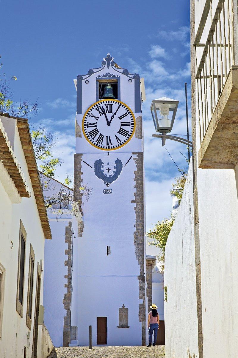 Tavira - Torre del reloj. Tavira
