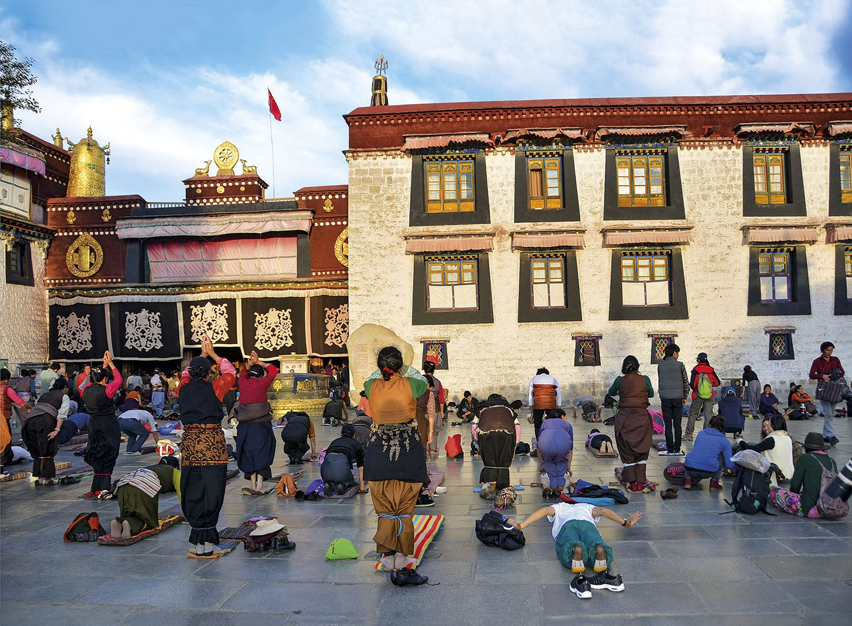 Templo Jokhang - Tibet. Templo Jokhang