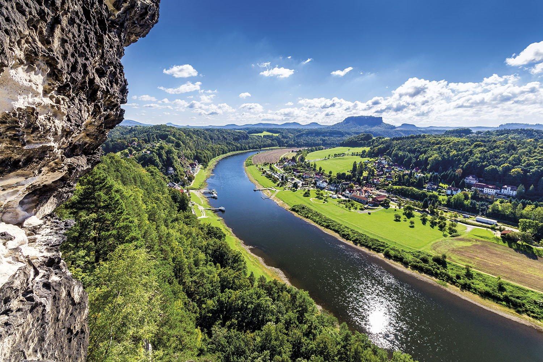 Mirador Bastei - rio Elba. El Balcón de Sajonia