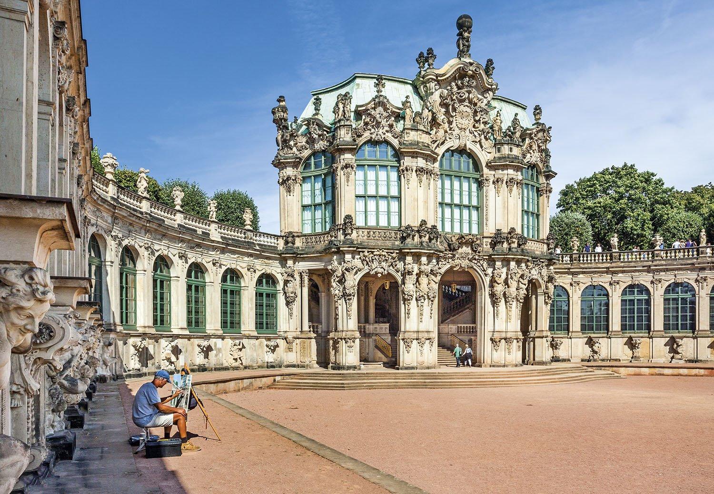 Palacio Zwinger - Dresde. Palacio Zwinger