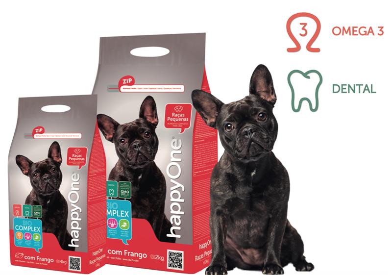 Pienso completo para perros especialmente indicado para perros de razas pequeñas, que ayuda a la formación de tártaro. Contiene Biocomplex, un conjunto de vitaminas, probióticos y prebióticos para ayudar a promover la salud del perro, y salmón, fuente natural de ácidos grasos omega 3.