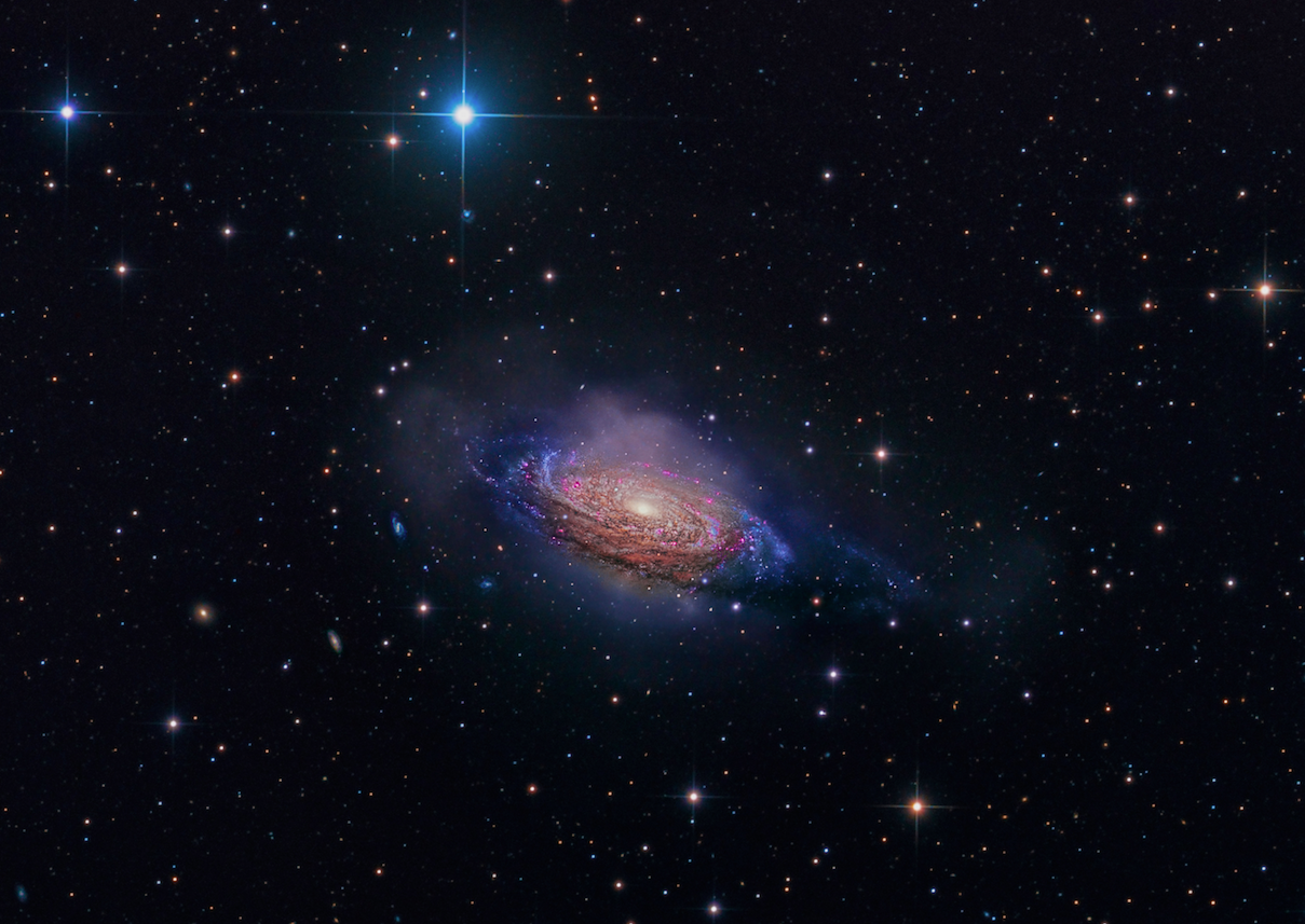 NGC 3521 Mysterious Galaxy
