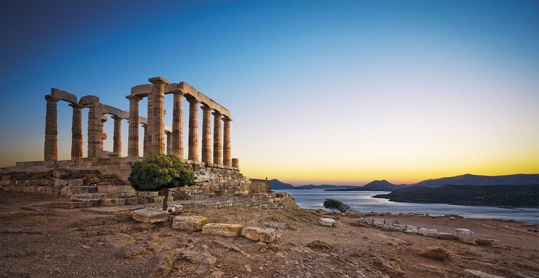 15 templo poseidon vacaciones roma. El templo de Sunion