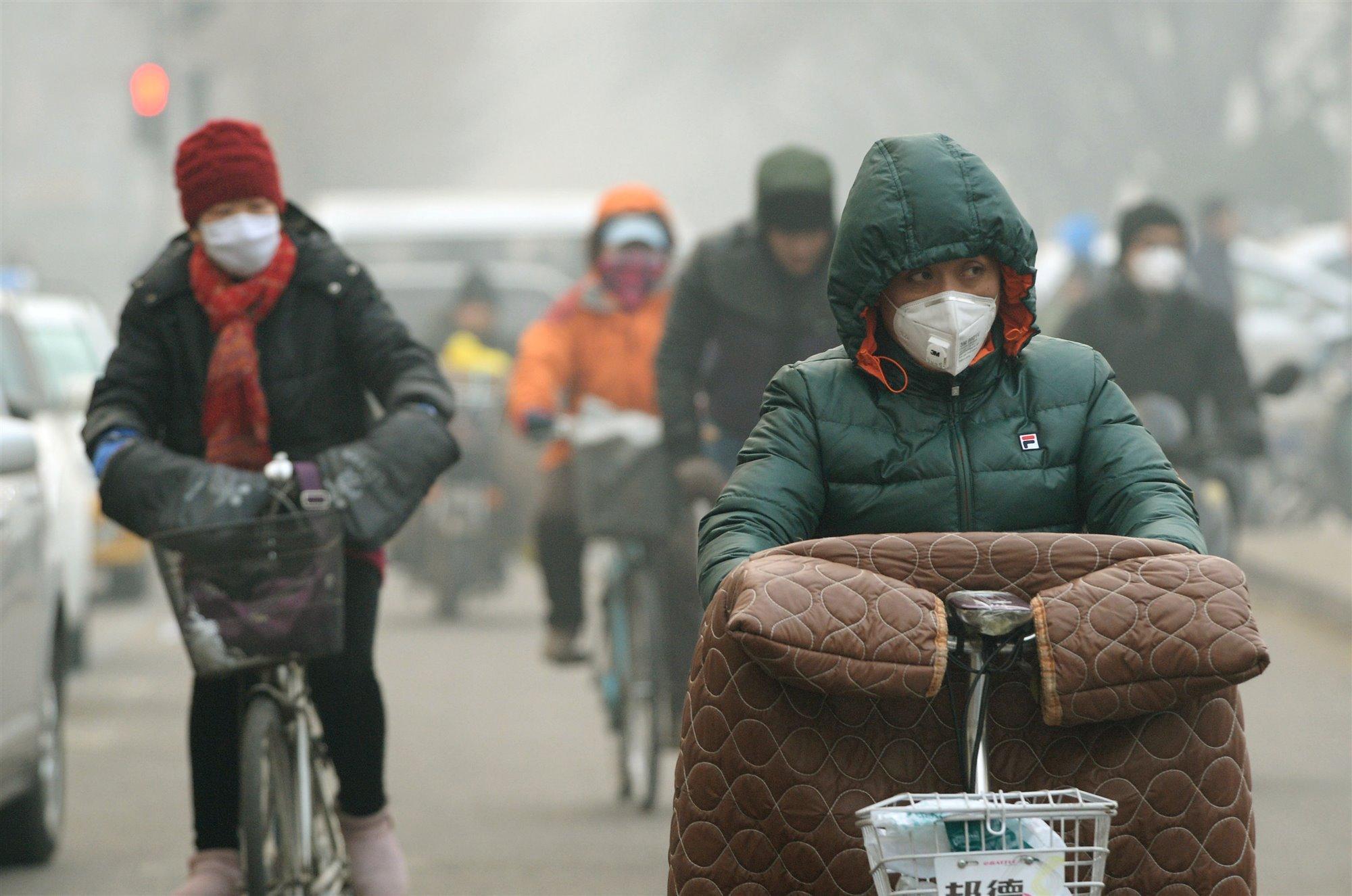 Los estragos del aire contaminado