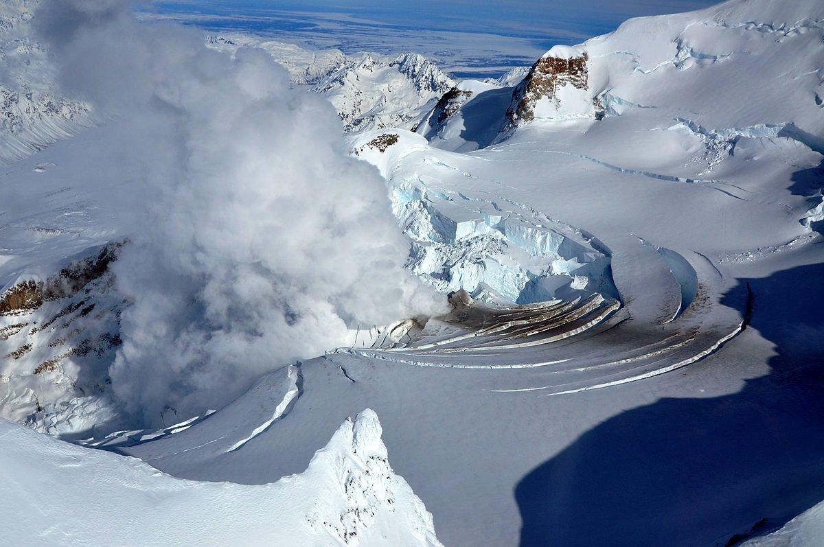 Monte Redoubt. Monte Redoubt, Alaska