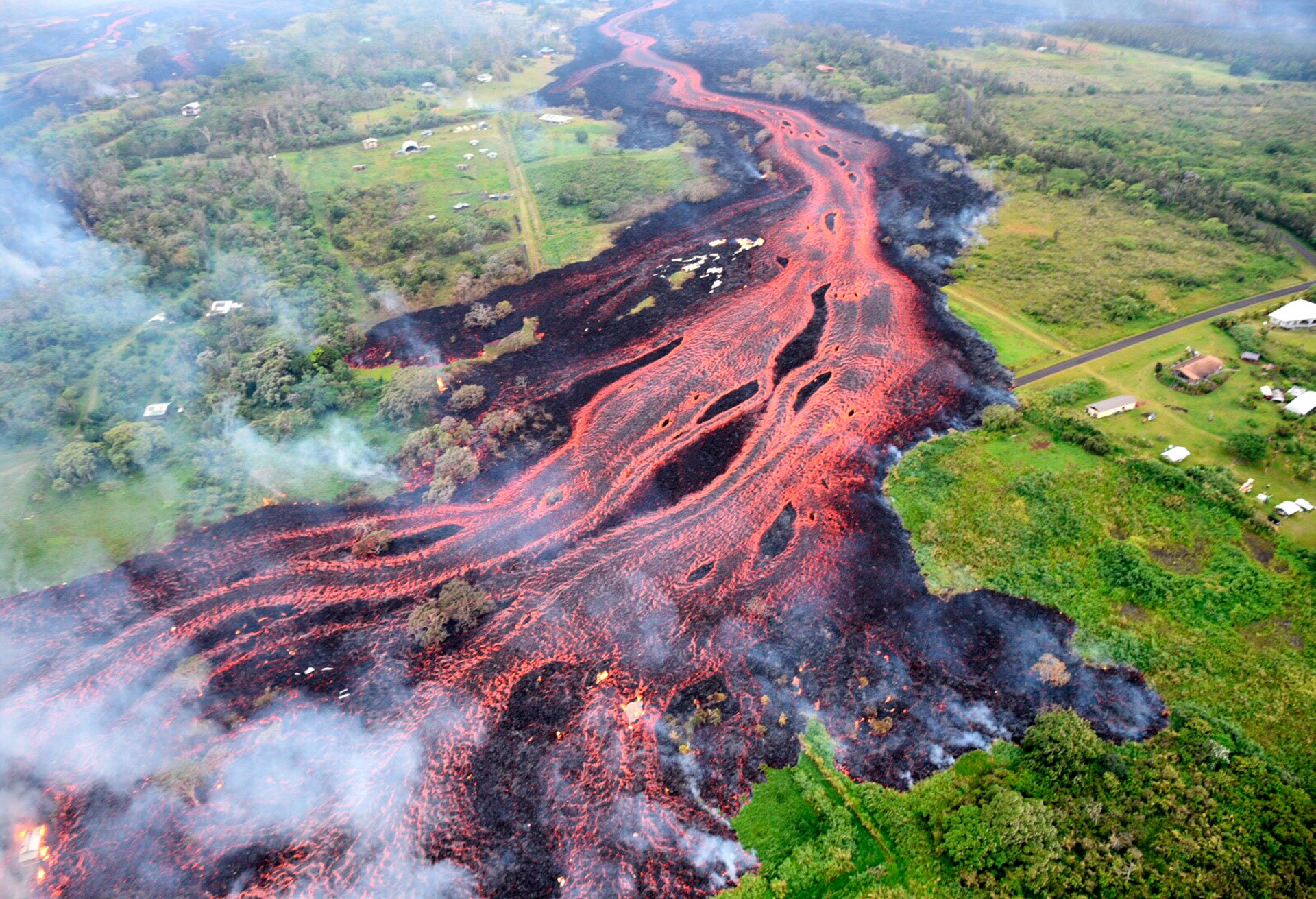 Volcán Kilauea, Hawai
