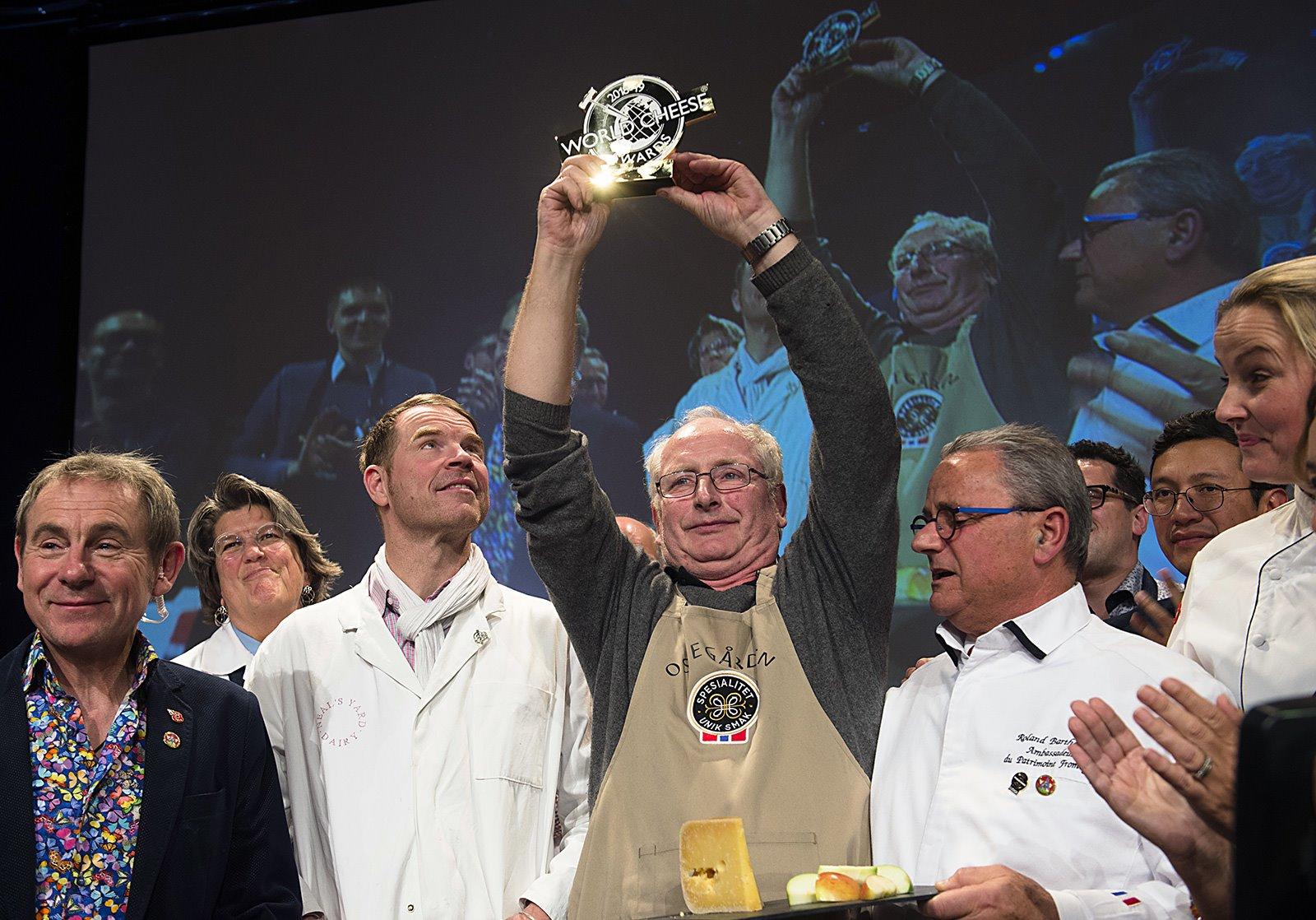 World Cheese Award. Ganador del Mejor Queso del Mundo