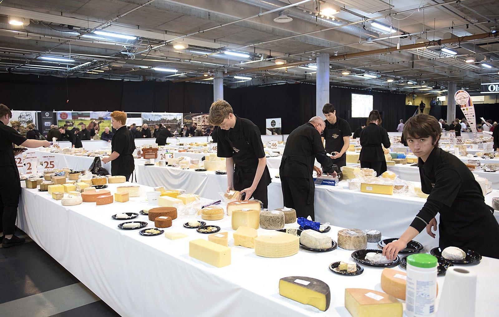 World Cheese Award. Selección de quesos