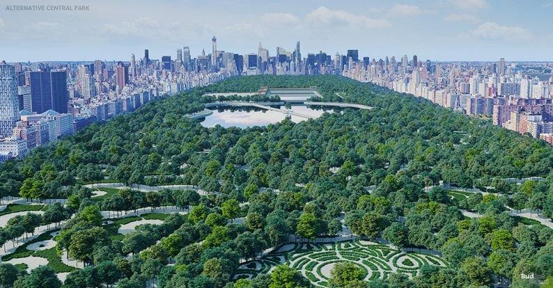 Central Park . Central Park de Rink