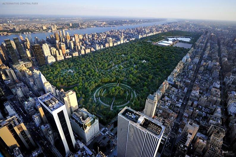 Central Park . Motivos de la creación de Central Park