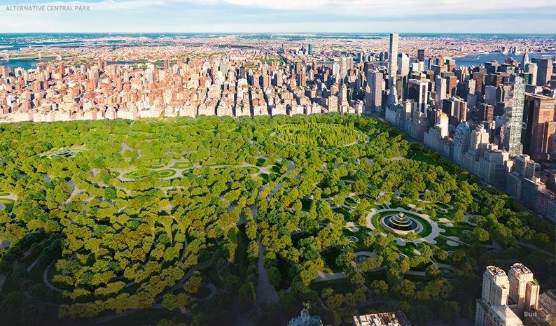 Central Park . El alternativo Central Park