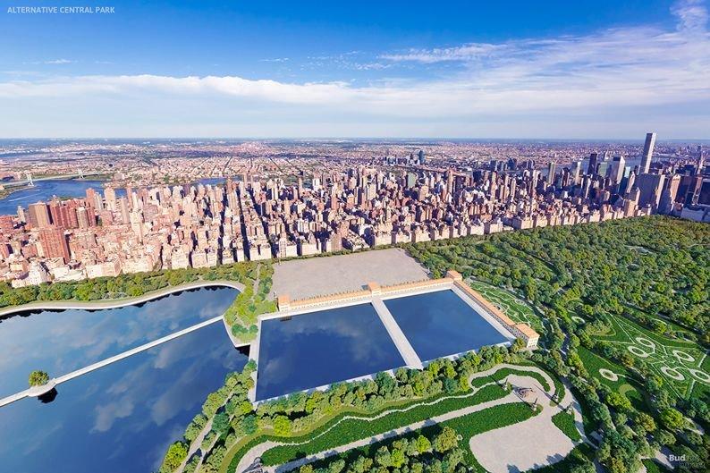 El agua de Central Park