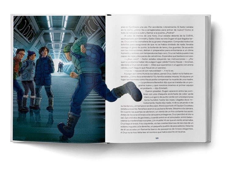 Página interior del libro El secreto de Nébula