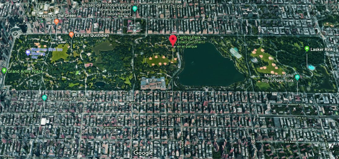 Central Park hoy día