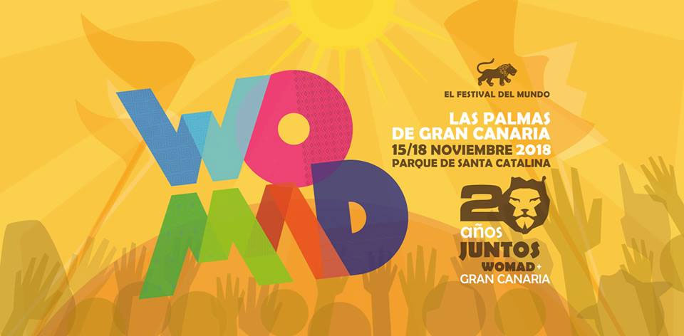 Cartel WOMAD Gran Canaria