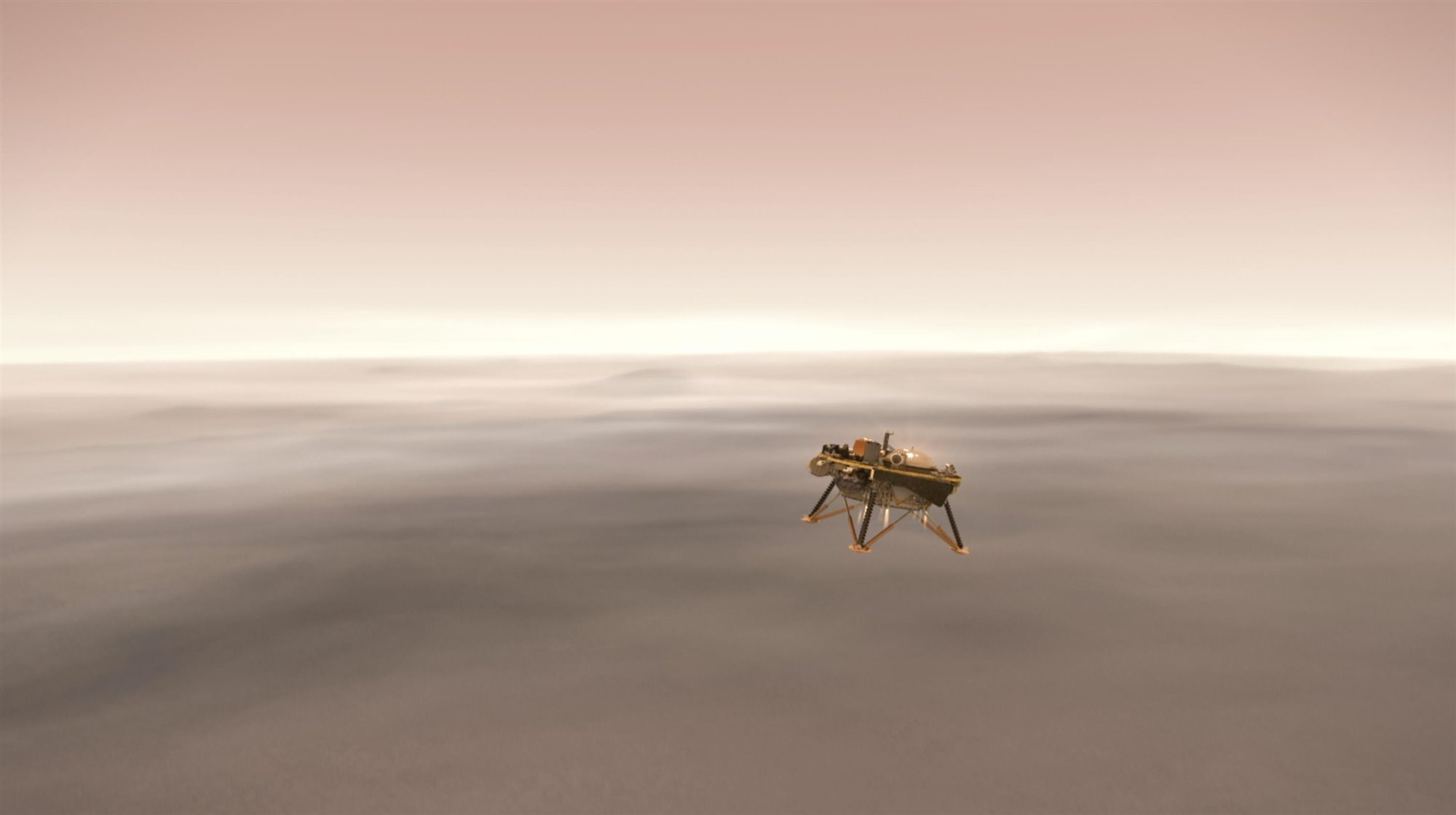 La misión InSight de la NASA aterrizará en Marte el lunes 26 de noviembre de 2018