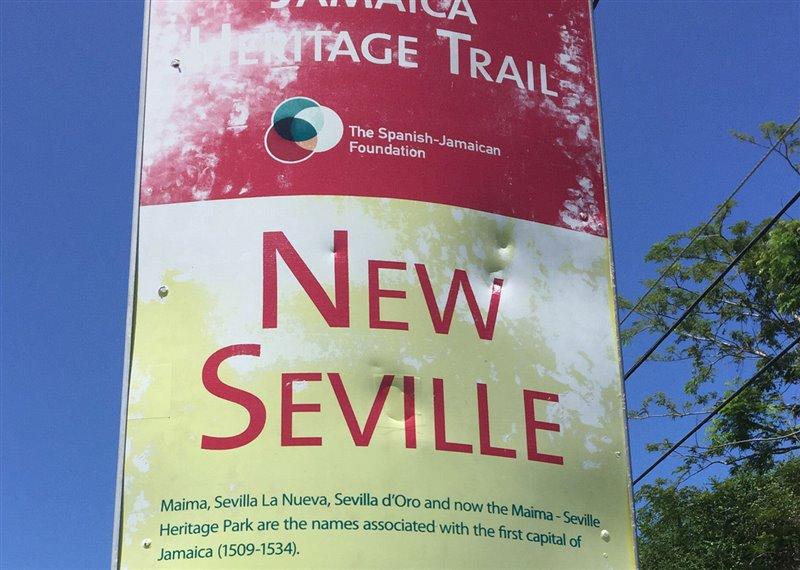 Tótem del Jamaica Heritage Trail