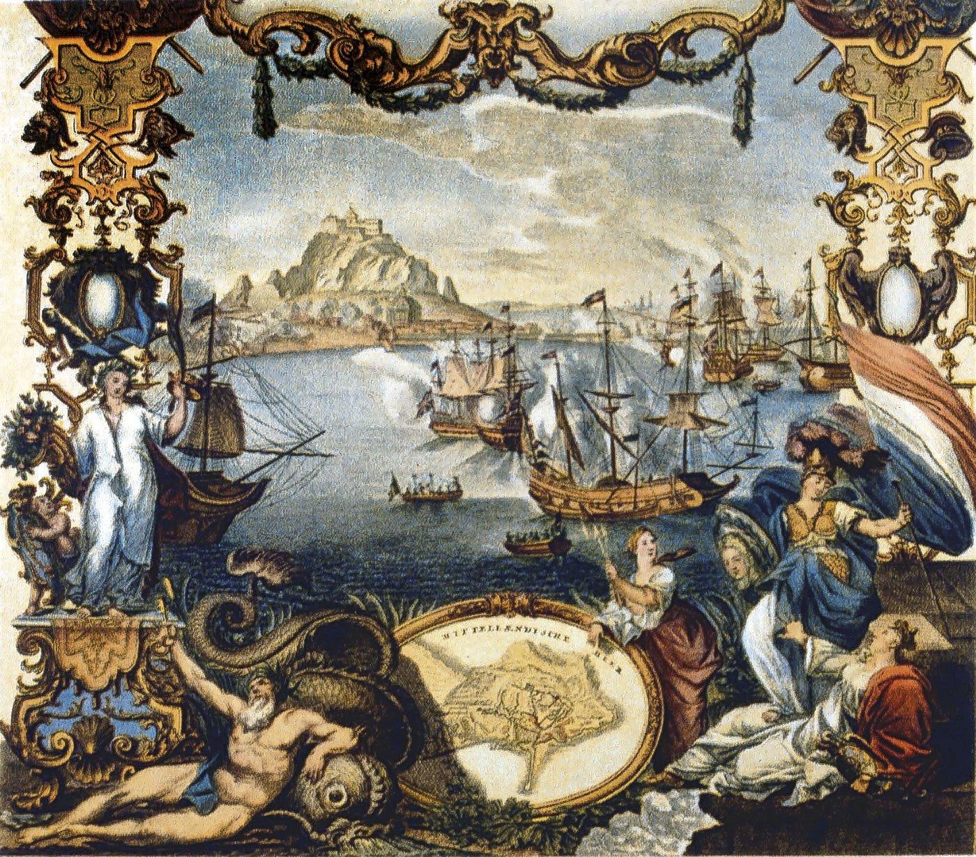 La ocupación de Gibraltar por los ingleses en 1704