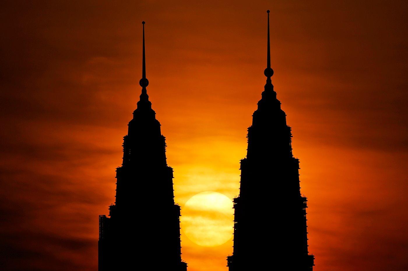 Torres Gemelas Petrona, Kuala Lumpur, Malasia. Torres Gemelas Petrona (Kuala Lumpur)
