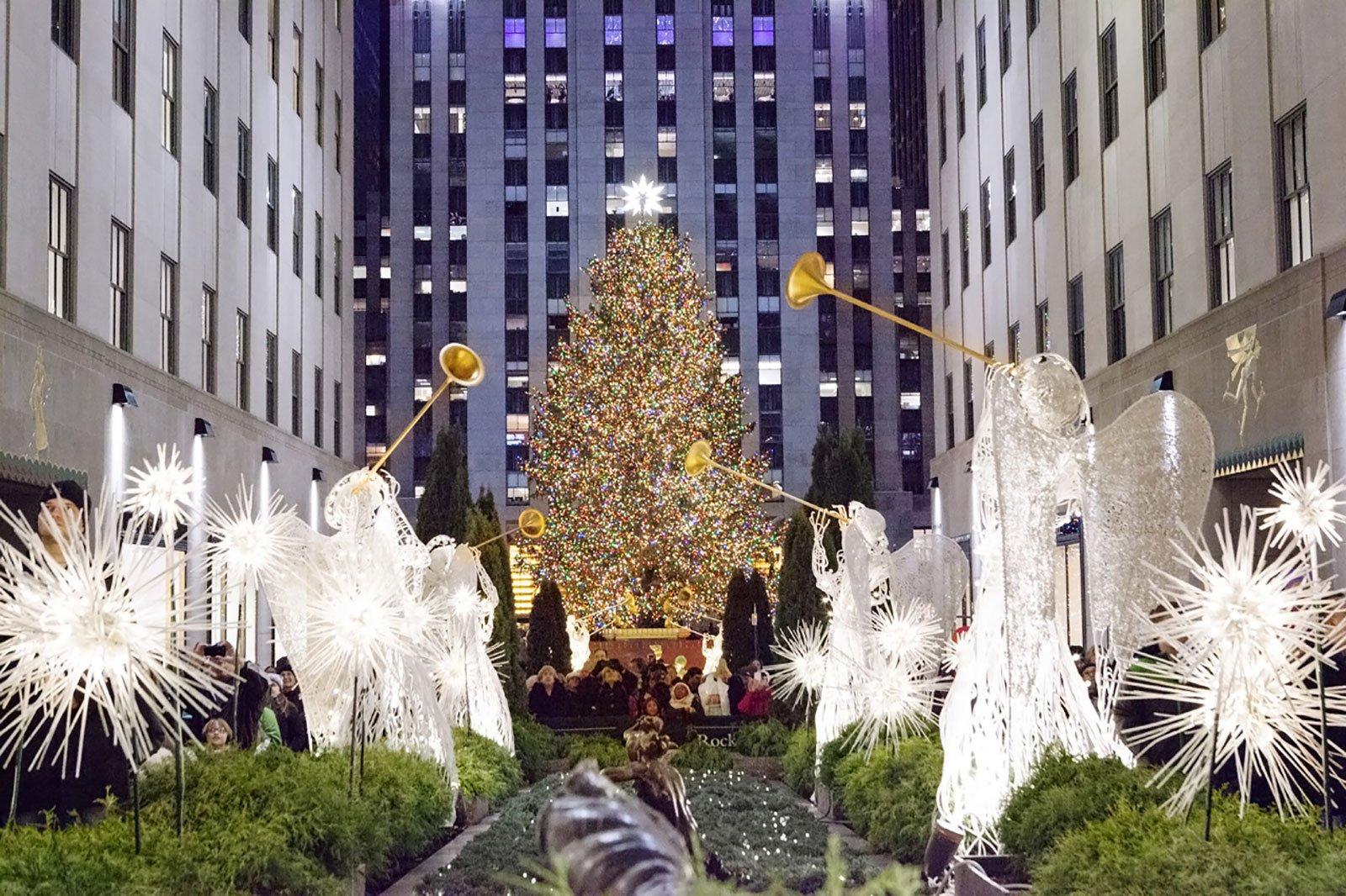 Árbol en el Rockefeller Center