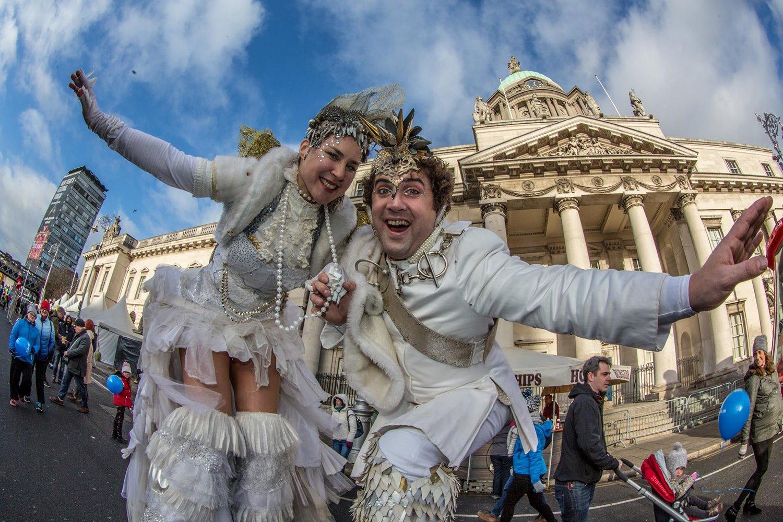 Festival-Nochevieja-Dublin. Mercadillos navideños y fin de fiesta en Dublín