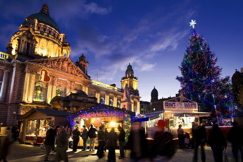 mercadillo-navideno-belfast. mercadillo navideño de Belfast