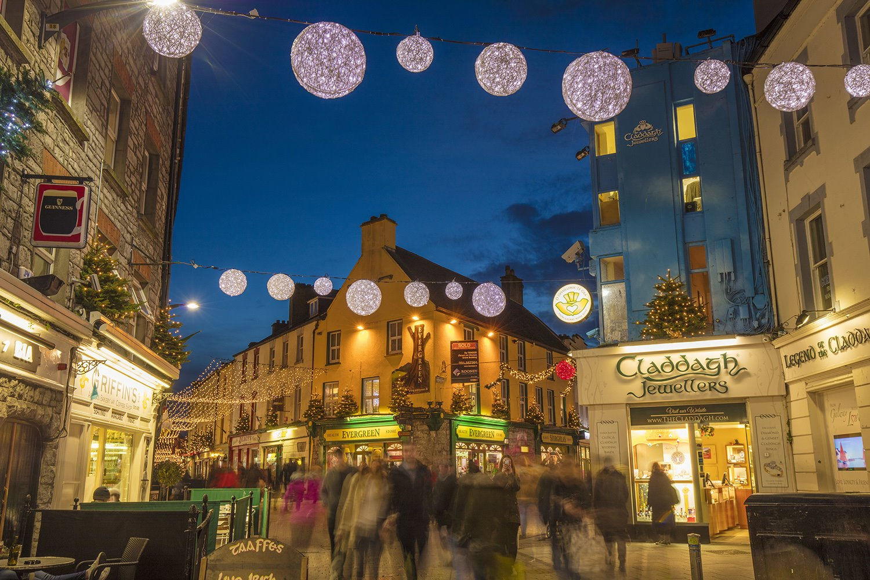 mercadillo-navideño-galway. mercadillo navideño de Galway