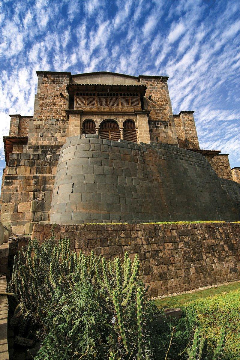 08 convento santo Domingo Cuzco Coricancha. Convento de santo Domingo